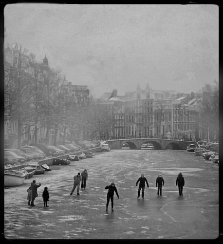 Amsterdam winter