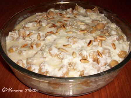 Chickpeas Fatteh Dish