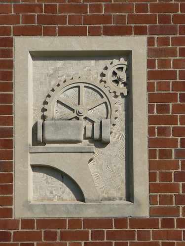 Frieze, West Middle School, Auburn