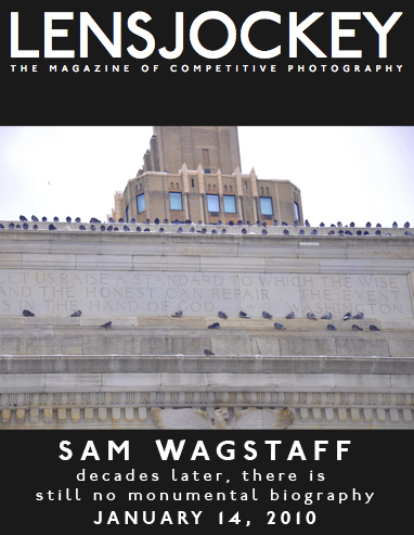 Thoughts of writing a comprehensive biography of Sam Wagstaff