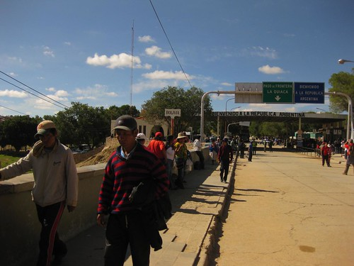 border crossing, Argentina to Bolivia