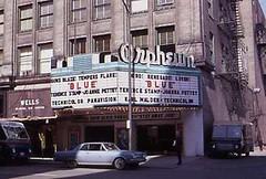Orpheum 1968 (MajorCalloway) Tags: blue wells technicolor movietheater panavision karlmalden terencestamp joannapettet america1960s