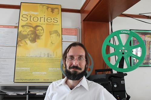 Ethan van Thillo at the Media Arts Center