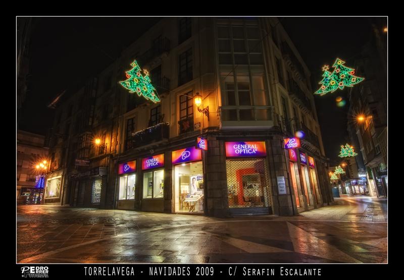 Torrelavega - Calle Serafin Escalante - Navidades 2009