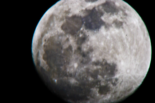 The Moon 1/28/10