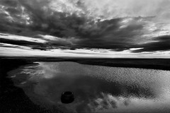 Human touch (enrix64) Tags: blackandwhite bw italy beach nature ecology clouds canon landscapes europe nuvole fiume bn pollution riflessi reflexion lao biancoenero ecologia inquinamento blueribbonwinner followup scalea 400d mywinners anawesomeshot superaplus aplusphoto theunforgettablepictures fiumelao oneofmypics cloudslightningstorms tripleniceshot flickraward5 enrix enrix64 flickrawardgallery