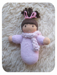 pink (Polar Bear Creations Dolls) Tags: baby wool children toy education toddler infant doll natural waldorf girldoll boydoll dressupdoll waldorfdoll rudolfsteiner clothdoll childfriendly anthroposophie pocketbaby steinerdoll waldorfdolls minibaby earlychildhoodlearning waldorftoy cuddledoll companiondoll waldorfpedagogy