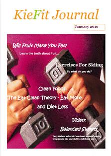 KieFit Journal Cover January 2010