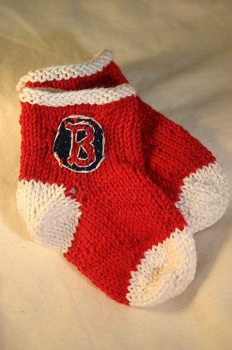 Red Soxs Socks (9)