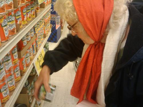 02/18/10 Grandma, shopping