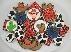 Cowboy Dylan's Birthday Collection (SweetSugarBelle) Tags: cactus horse cowboy cookie western denim pocket bandana cowboyhat wrangler bluejean cowprint littleboybirthday