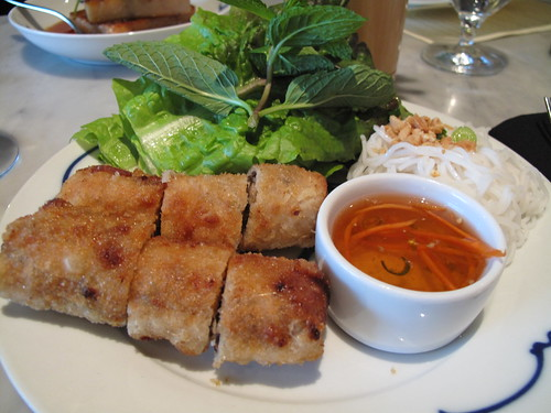 Crispy Impeial Spring Rolls at Out the Door