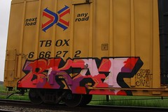 Bkat on TTX (All Seeing) Tags: graffiti bobcat lib allseeing tbox ttx ftl bcat bobkat
