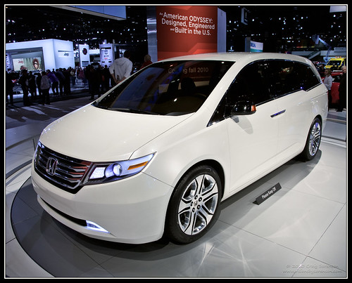 New-Honda-Odyssey-2010. It can be seen from the height of 1545 millimeters
