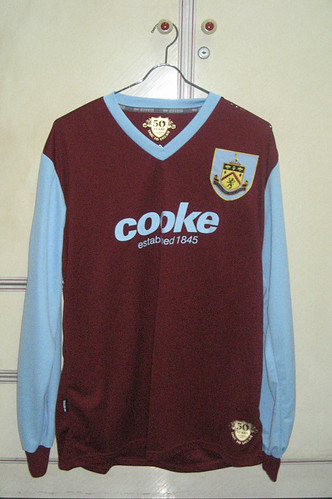 Burnley 2009-2010 Home L/S