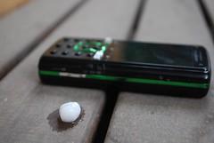 Pea sized hail, Sony Ericsson K850i