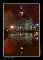 Lakeside, Nottingham (setsuyostar) Tags: water reflections gothic hdr nightscapes photomatix ravenshead kenhawley march2010 spring2010 lakesidenottingham