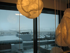 Hilton Hotel Helsinki (blind_donkey) Tags: winter snow window finland hotel airport helsinki view hilton decor 2010 vaanta beautifulexpression flickraward