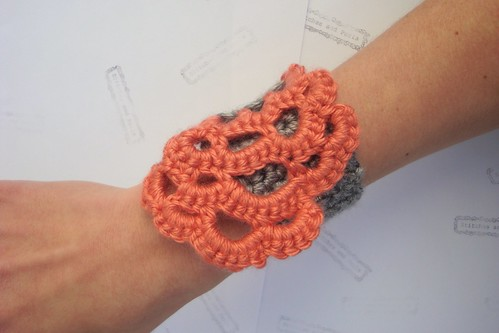 Crocheted Bracelet Cuff