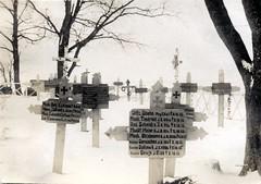 Mass graves - Russia 1915 (✠ drakegoodman ✠) Tags: cemetery grave graveyard dead postcard headstone memory crucifix burial marker worldwarone soldiers ww1 greatwar firstworldwar worldwar1 germansoldiers rppc infantrymen feldpost