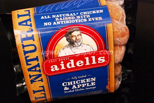Aidells' Chic & Apple Smoked Sausages
