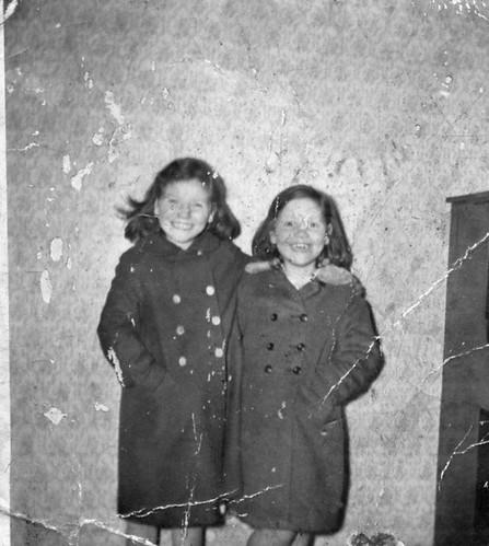 Mary and Helen Callahan, 1959.
