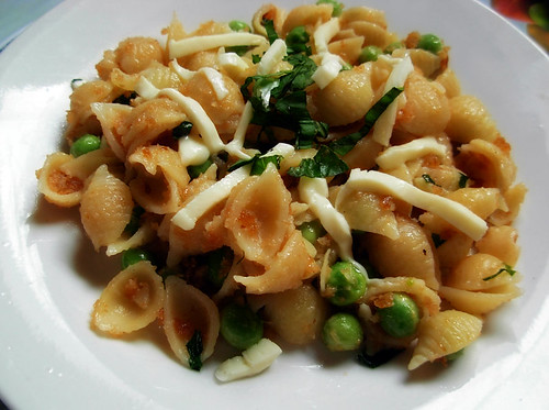 peas and shells