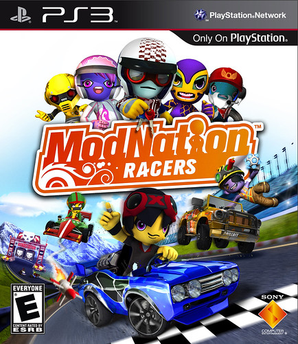 ModNation Racers PS3 Box