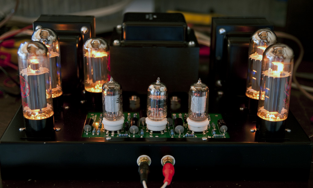 Triode ST-70 kit, one side not working, fuse blows when biased past 0.9V 4438753141_ef56791291_o