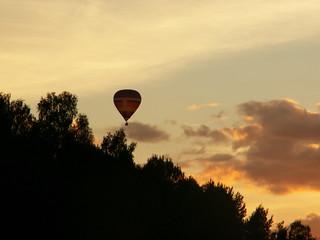 Gaisa balona lidojums - dāvana Rēzeknē.
