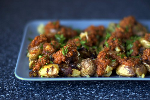 romesco potatoes