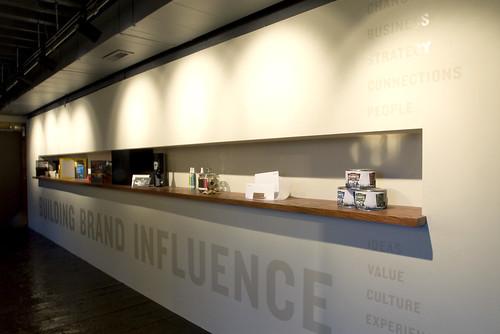 Beautiful Urban Influence Office Display Wall