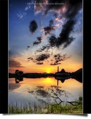 The Alternation of Night & Day #2 (AnNamir c[_]) Tags: sunset canon tripod kitlens mosque malaysia dq hdr masjid senja exposures 500d mesjid maghrib kualakubu tonemapped tonemapping justclouds kkb huluselangor annamir darulquran masjiddq tasikhuffaz dqkkb sahabatsejati micarttttworldphotographyawards artofimages getokubicom huffazlake worldworx bestcapturesaoi elitegalleryaoi