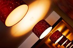 (ion-bogdan dumitrescu) Tags: light red hallway romania lamps bucharest img4664 bitzi ibdp ibdpro wwwibdpro ionbogdandumitrescuphotography