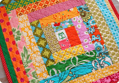 Owl Doll Quilt (joomoolynn) Tags: barn vintage michael jump log cabin doll quilt amy lotus market heather katie flight ducks mini brooke charm rope bijoux polka dot chain miller bailey butler owl fancy daisy belle pottery schmidt flea dandy damask repro denyse