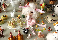 Chicken! (Maaikeh1) Tags: chicken easter melody pullip