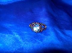 anillo (mitzu2010) Tags: arcoiris handmade colores ring bead pearl cristal anillo manualidades abalorios delica joyas cuentas hechoamano bolitas