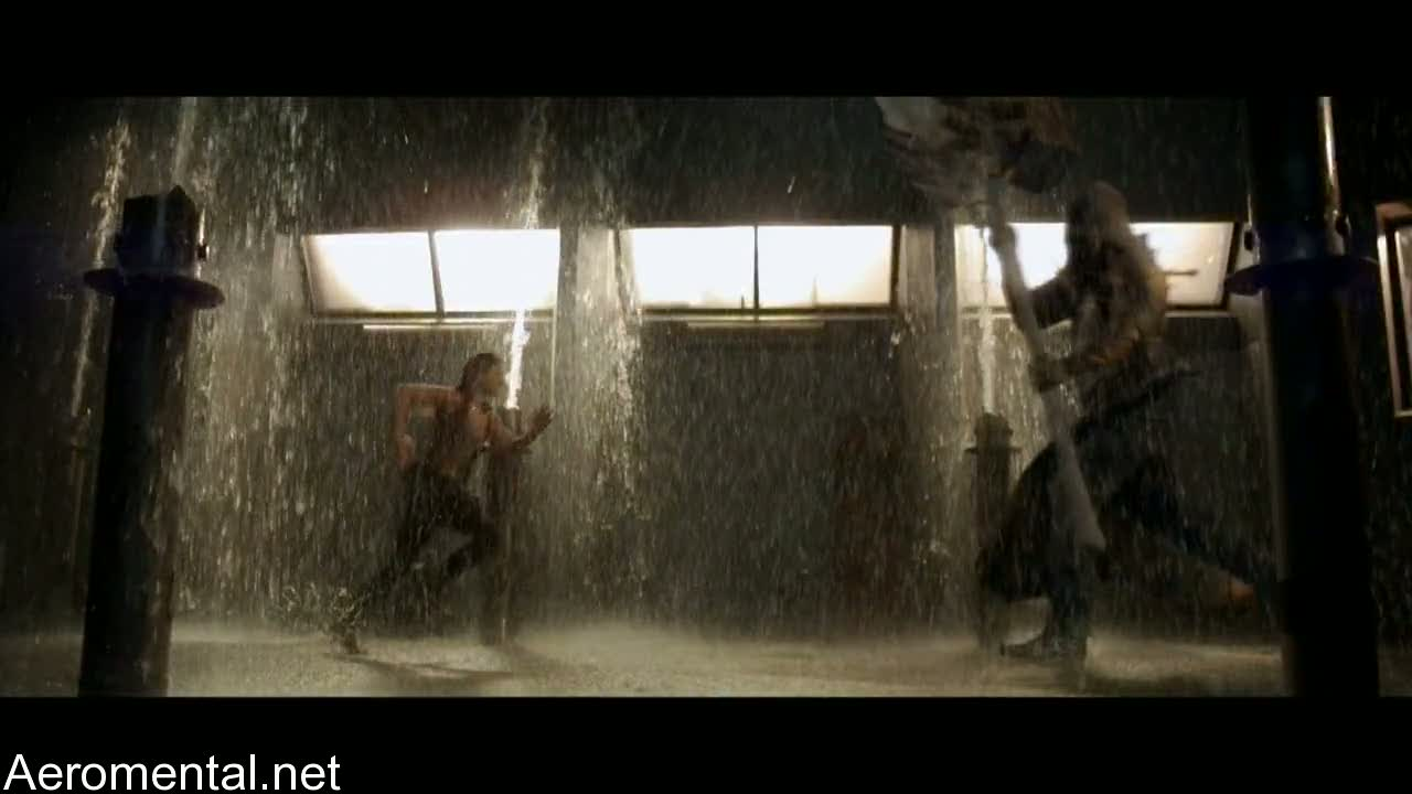 Resident Evil Afterlife Claire vs the Executioner
