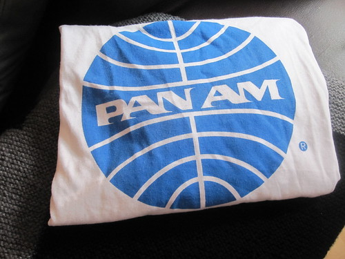 Pan Am shirt from the Air and Space museum