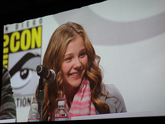 Kick-Ass panel - Chloe Moretz (Pop Culture Geek) Tags: sanfrancisco panel convention moscone kickass 2010 wondercon hitgirl chloemoretz
