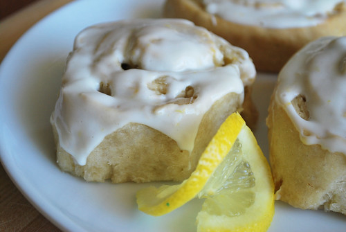 Sticky Lemon Rolls With Lemon Cream Cheese Glaze Recipes — Dishmaps