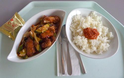 Ko Lo Kai - Pute süß-sauer / turkey sweet-sour