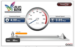 Bandwidth Speed Test with 3BB