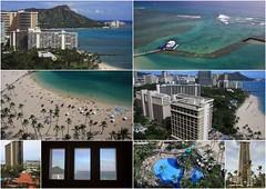 Hilton Hawaiian Villiage (Barto2) Tags: ocean usa beach hawaii oahu diamondhead rainbowtower hiltonhawaiianvilliage superpool