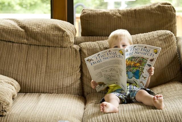 Blake reading
