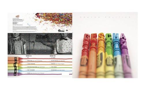 Crayon Politics/GESCHA vinyl album cover