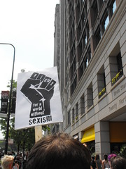 Fist (softjunebreeze) Tags: chicago downtown michiganave womensrights equalrights daleyplaza antirape sexpositive womensempowerment slutwalk
