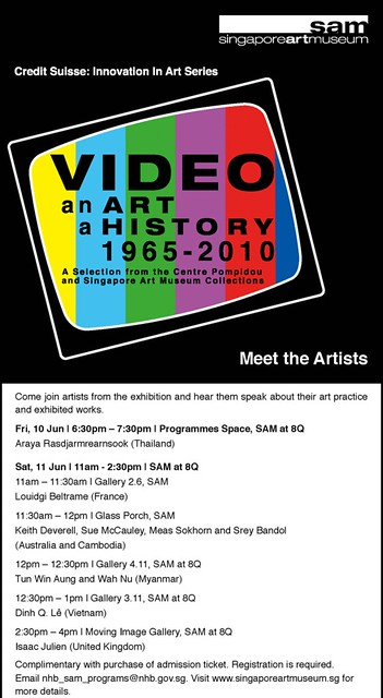 Video an Art a History 1965 - 2010