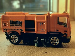 Sheffer Street Sweeper  By Matchbox. (Chicago Rail Head) Tags: mattel matchbox diecastmodel streetsweeper