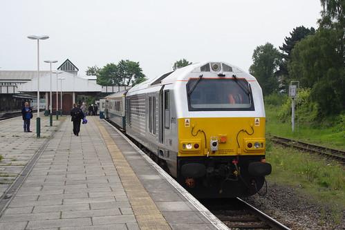20080523 001 Wrexham General. 67012 Arrived With 1J80, 06.45 ex-Marylebone